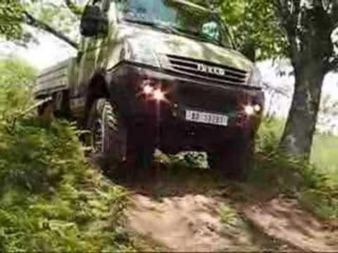 Test Drive con Iveco Daily 4x4 a Cava de' Tirreni (SA)