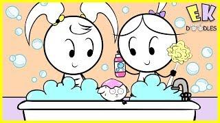Emma & Kate's Animal Friends - EK Doodles Funny Cute Animation Drawings