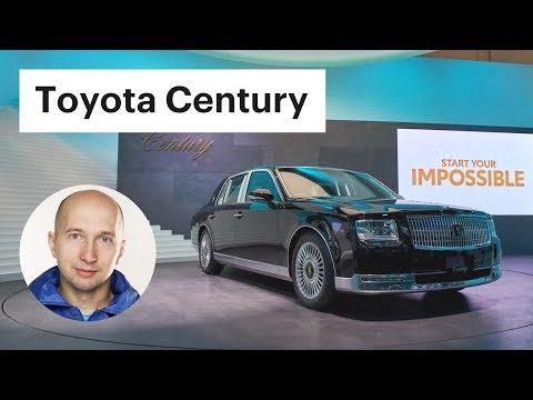 От этой Тойоты мурашки по коже! / Обзор Toyota Century