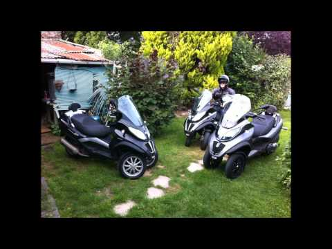 review piaggio MP3 500 LT touring sport en exclusivité juillet 2011