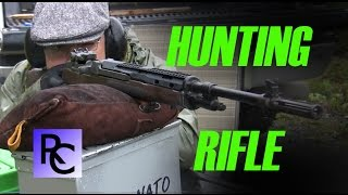 Can the M1A shoot Round Nose bullets? Hunting Rifle