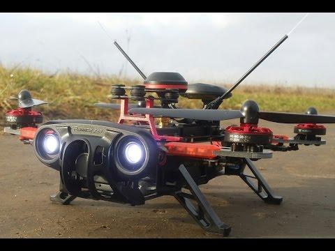 Квадрокоптер 250 размера Walkera Runner 250 Advance с GPS ... Распаковка, полеты