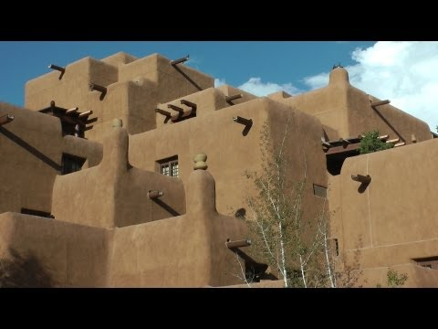 Santa Fe, New Mexico, USA in HD