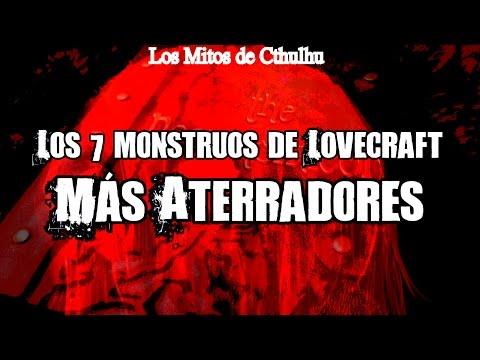 TOP 7: Los monstruos de la mitología Lovecraftniana más aterradores