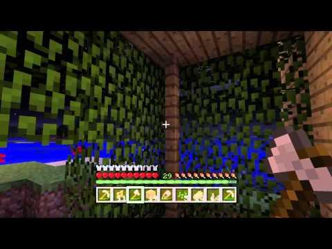 Minecraft - Выживание - #17 - Стеклянная крыша :)