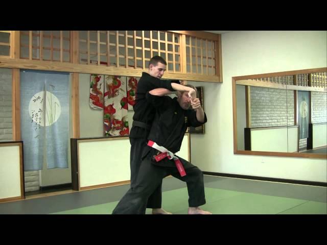 Kodenkan, Danzan Ryu- Moroyubi Tori- with Shihanke Russ Rhodes