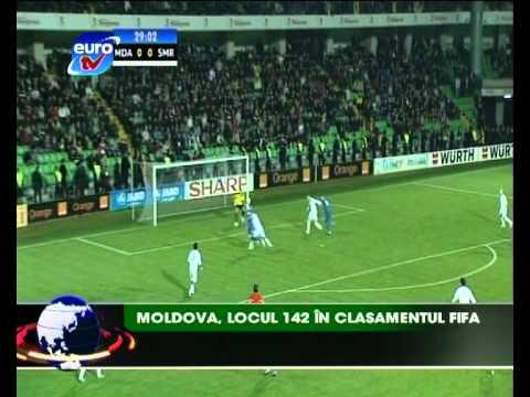 Sport Euro TV 15.02.12 / Ion Caras Lot Moldova Belarus Amical Serghei Covalciuc Bugaiov Doros Ivanov