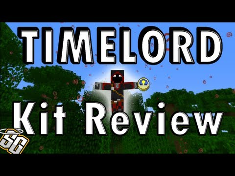 MCPVP.com | Review #27 TIMELORD Kit Review | Minecraft Hunger Games