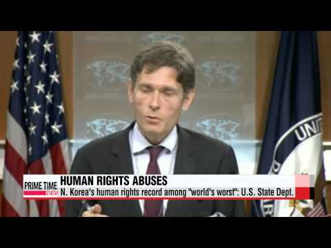 N. Korea′s human rights record among ″world′s worst″: U.S. State Dept.