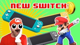 Nintendo Switch Lite Reaction