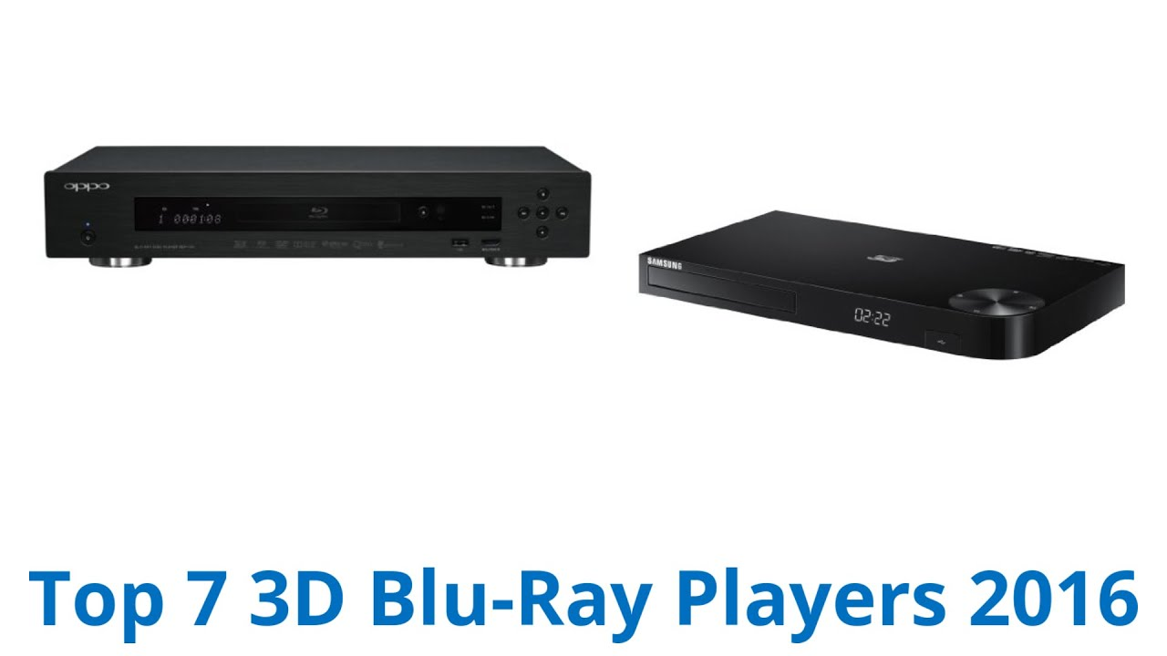 7 Best 3D Blu-Ray Players 2016