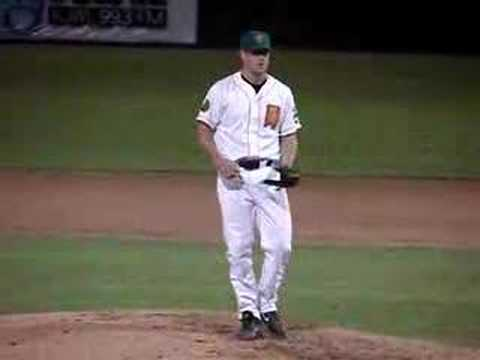 Brian Wilson of the Fresno Grizzlies (San Francisco Giants) Video