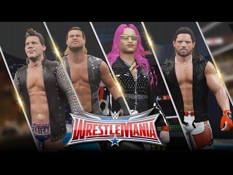 WWE 2K16 Wrestlemania 32 Attire Bundle (AJ Styles, Chris Jericho, Sasha Banks & Dolph Ziggler)