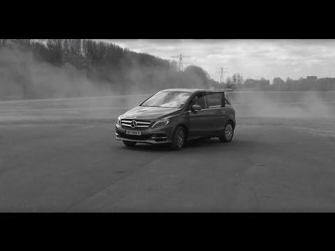 Тестируем электрический Mercedes B - class