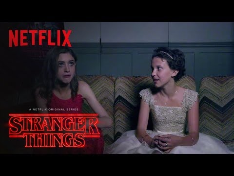Stranger Things Cast Gets Scared! Teaser - Netflix [HD]