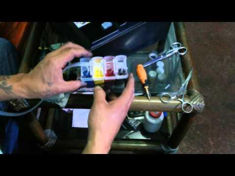 Como Instalar Ciss Tinta Continua En Epson Stylus TX400