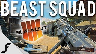 BEAST SQUAD - COD Blackout Gameplay ( RTX SQUADS )