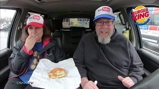 Burger King® | Grilled Chicken Sandwich w/Honey Mustard Sauce 🍔👑🐔| JKMCraveTV