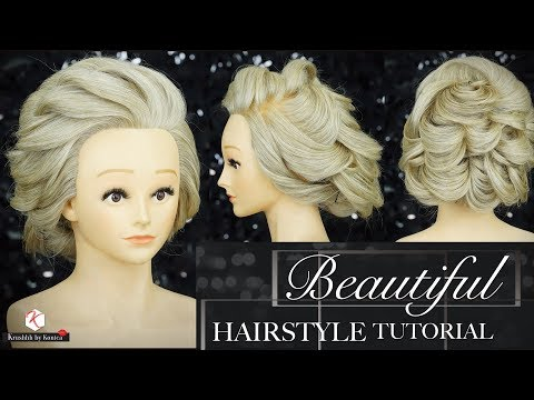 Hair Bun Tutorials | Beautiful Hairstyles | Step By Step Easy Hairstyle Videos | Krushhh By Konica