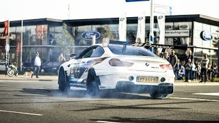 800hp BMW M6 GT3 Going CRAZY On Public Roads!! STREET LEGAL