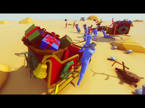 SANTA + TRUMP + CLINTON?!?! | Totally Accurate Battle Simulator (TABS)
