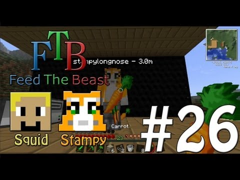 Feed The Beast #26 - Dance Routine!! - W/Stampylongnose