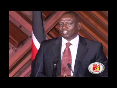 Deputy President elect, William Ruto's Full acceptance speech