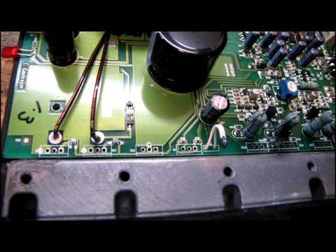 Rockford Fosgate Car Stereo Amp Repair