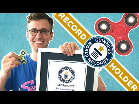 We Broke The Fidget-Spinning World Record
