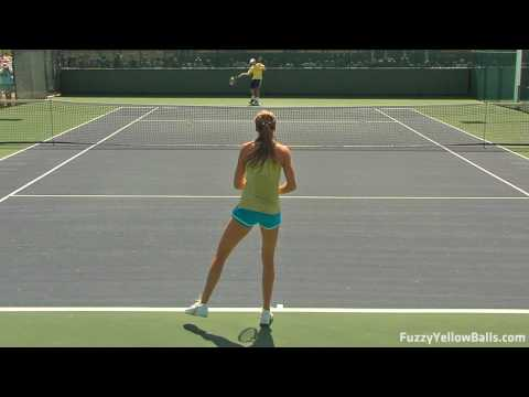 Daniela Hantuchova Rallies in HD Video