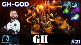 GH - Earthshaker MID | GH-GOD | Dota 2 Pro MMR Gameplay #21