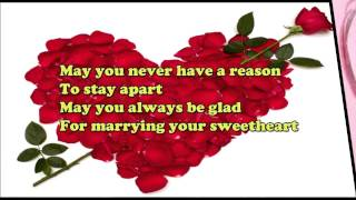best wishes for wedding, SMS, Whatsapp video, congratulations message for marriage
