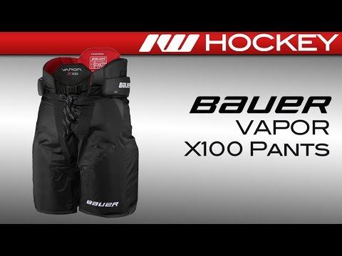 Bauer Vapor X100 Hockey Pants Review