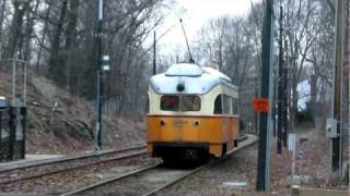 Ashmont-Mattapan High Speed Line (PCC Trolley Cars in Boston)