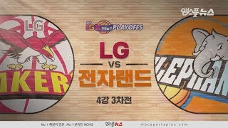 【HIGHLIGHTS】 Sakers vs Elephants  | 20190408 | 2018-19 KBL