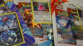 Opening: PRIMAL CLASH Ditto and Zoroark blister packs! + FREE CODES