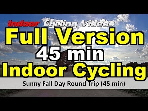 Sunny Fall Day Round Trip - FULL VERSION (45 Minute Indoor Cycling Training)
