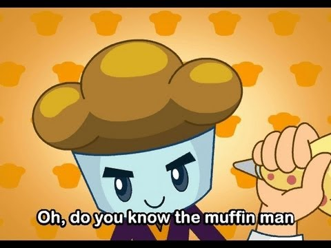 Muffin Songs - The Muffin Man   | nursery rhymes & children songs with lyric