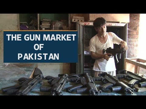Pakistani tribal town sells guns cheaper than smartphones | Video