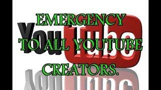EMERGENCY TO ALL YOUTUBE CREATORS. ARTICAL 13.
