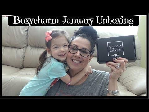 Boxycharm January Unboxing