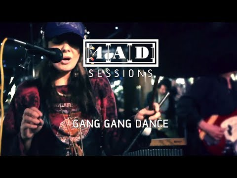 Gang Gang Dance - Live @ 4AD Session, 2011