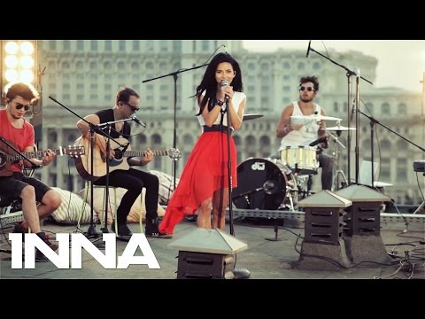 Inna - Crazy Sexy Wild ( Rock The Roof  Bucharest) video