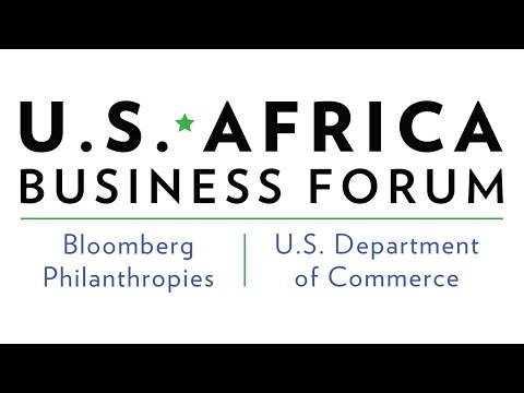 Bloomberg Philanthropies / Google 'Hangout' @ the US-Africa Business Forum
