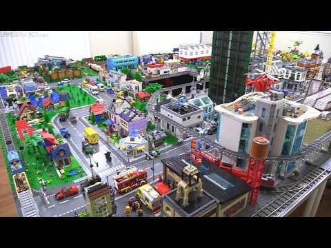 LEGO city update & custom builds season-end overview!