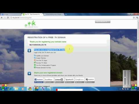 How To Create And Design Free Website With Free Domain Name And Hosting In Telugu. video