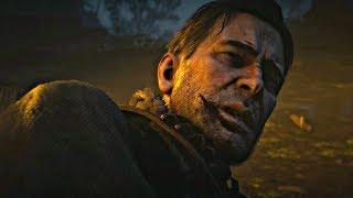 Red Dead Redemption 2 - Final Boss & Ending (Go For Money Ending) Death of Arthur