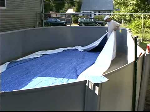 Do It Yourself Oval Above Ground Swimming Pool Installation 2 Of 2 Youtube