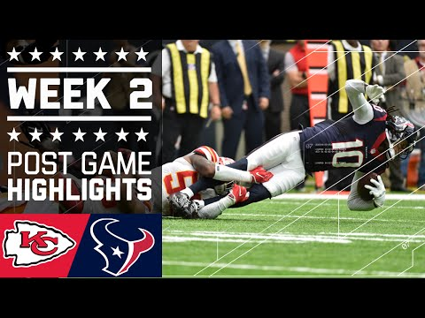 Chiefs Vs Texans Nfl Week 2 Game Highlights