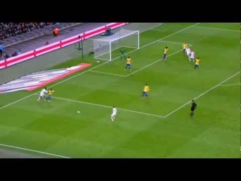 Jack Wilshere vs Brazil 06/02/13 [HD] |BY LIIBAAN |